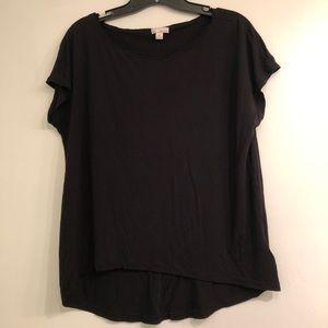 Gap Hi/Low Black Shirt